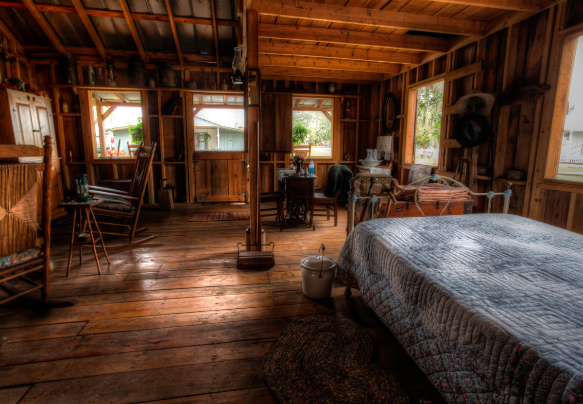Back Porch Cabin : Cabin back porch and inside view jazzersten s hdr