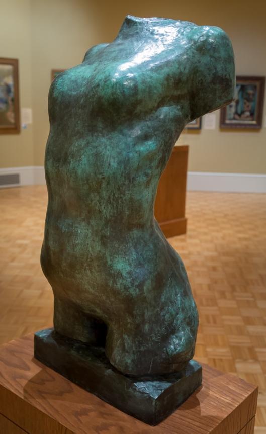 Bronze Torso by Rodin